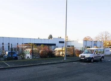 Bâtiment de l'ESAT à Angers Kypseli