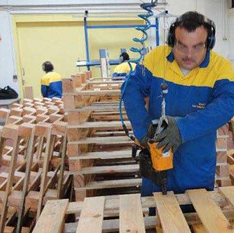 Travailleur handicapé dans l'EA Kypseli